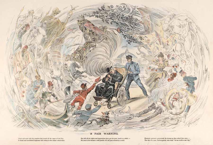 Joseph Keppler, <i>World's Fair Puck</i>, September 11, 1893.