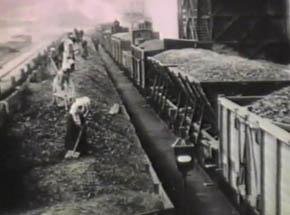 Steelmill Poldihutte, circa 1915.<br> Netherlands Filmmuseum.