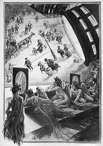 What must be one of the main amusements for Martians.<br>